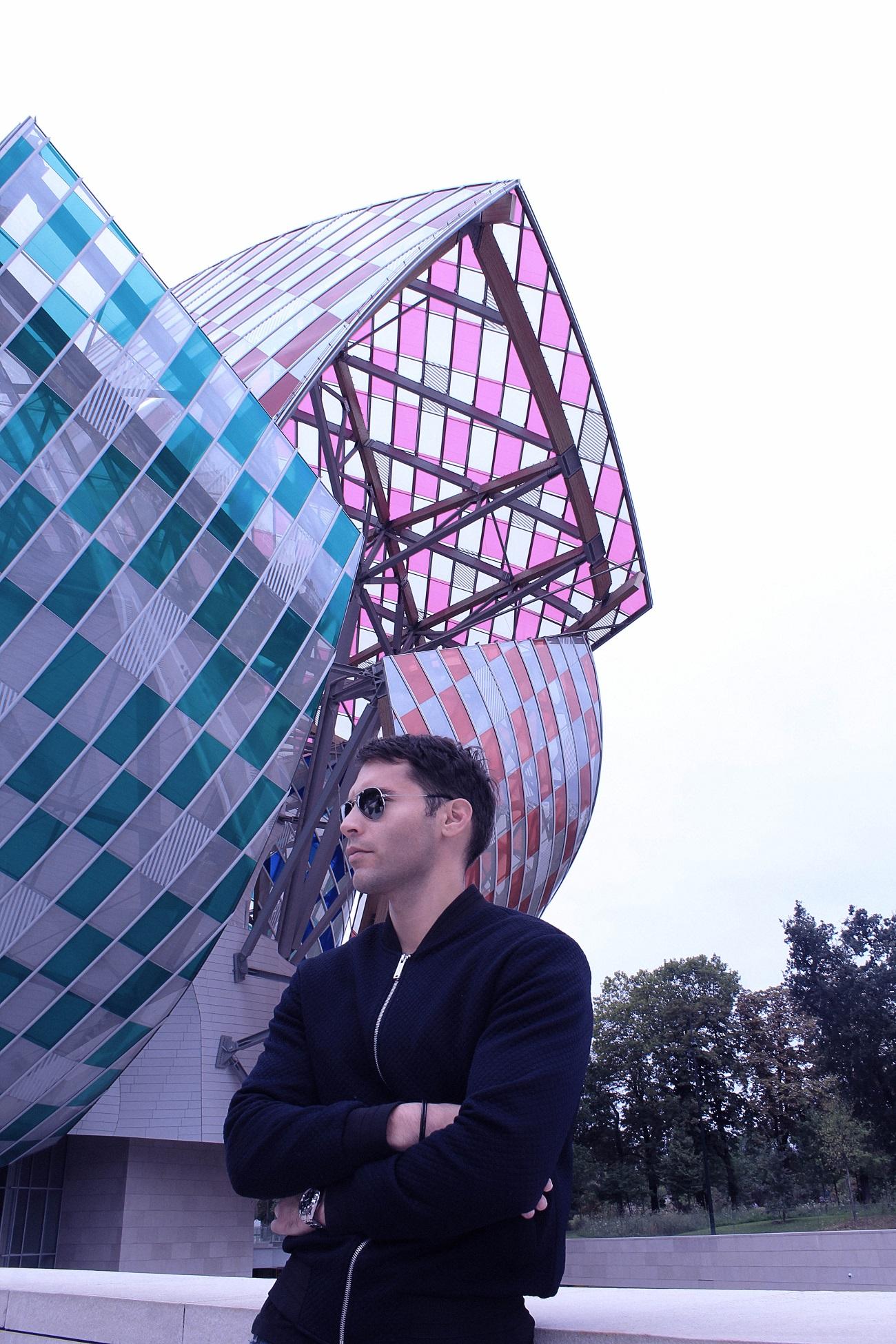 Vukota Brajovic at Louis Vuitton Fondation Paris